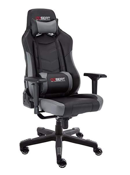 OPSEAT Grandmaster Series 2018 Computer Gaming Chair Racing Seat PC Gaming Desk Office Chair - Gray  sc 1 st  Amazon.com & Amazon.com: OPSEAT Grandmaster Series 2018 Computer Gaming Chair ...
