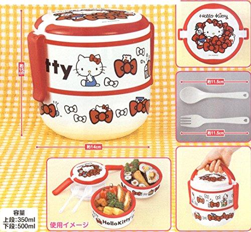 Bento Sanrio Design Japanese 2 layer product image