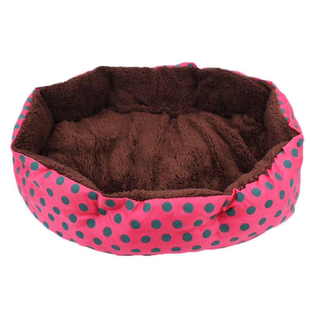 A L A L Moolo Pet Bed Short Plush Fabric Cotton Pad Four Seasons Universal Soft Comfortable Breathable And Durable Warm Dog Bed (color   A, Size   L)