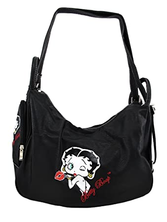 Amazon.com : Black Betty Boop 4-in-1 Shoulder, Sling, Backpack ...