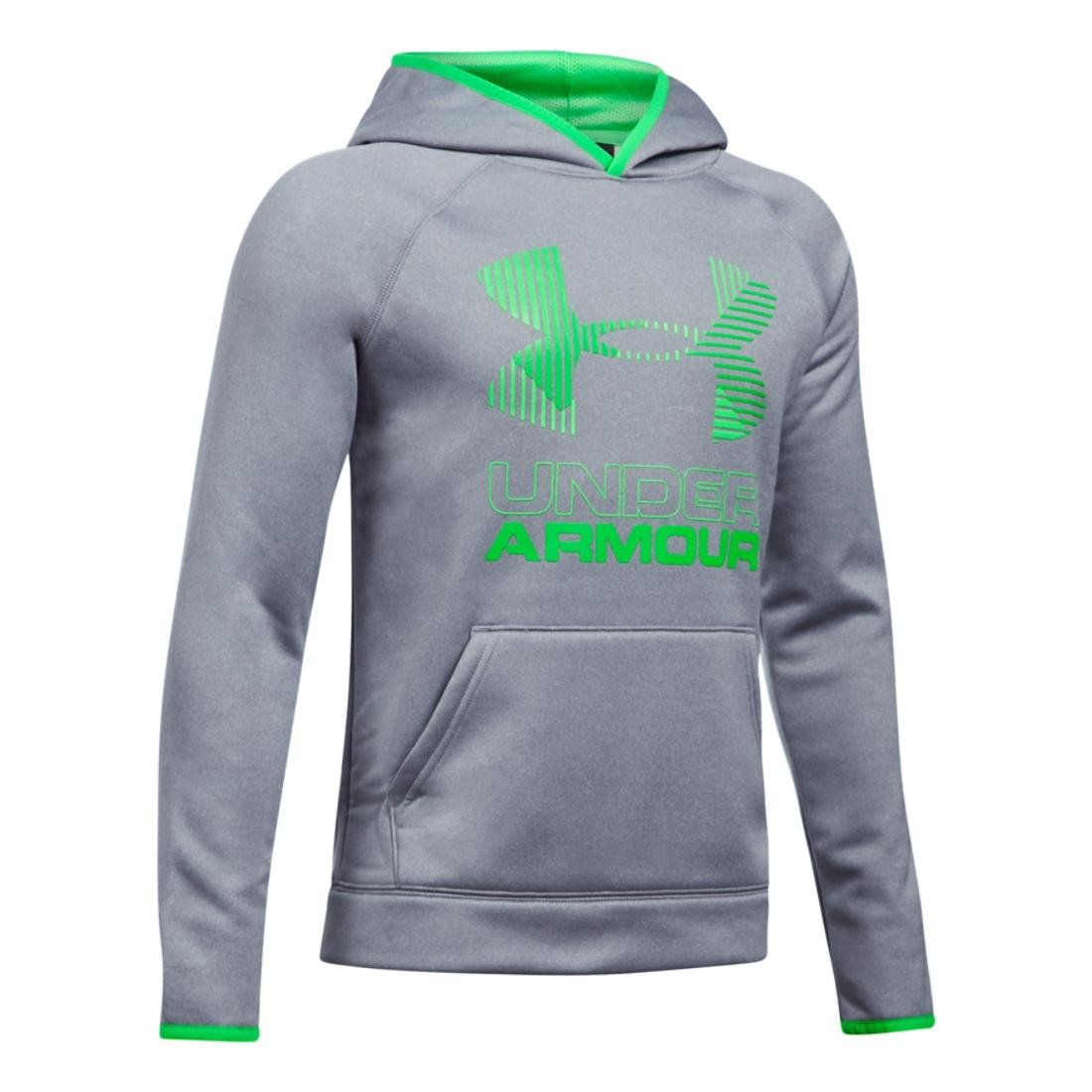 Under Armour Armour Fleece Solid Big Logo YMD STEEL LIGHT HEATHER