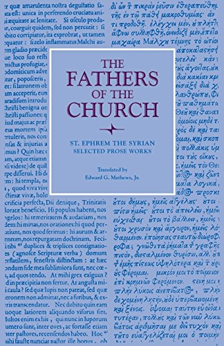 Selected Prose Works (Fathers Of The Church Patristic Series)
