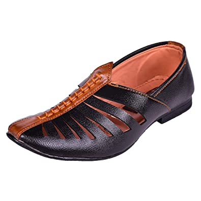 e849e33c4166 IMCOLUS Boy s   Men s Loafers Breathable Casual Ethnic Slip-On Shoes for Men
