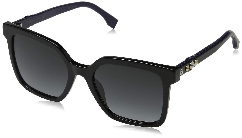 Fendi FF 0269/S 9O 807 Gafas de sol, Negro (Black/Grey), 54 para Mujer