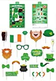 St Patrick's Day Irish Party Photo Booth Props Accessories - 20 Pieces