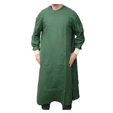 Surgeons Operating Gown Veterinary Rocky Horror Fancy Dress Scrubs ...