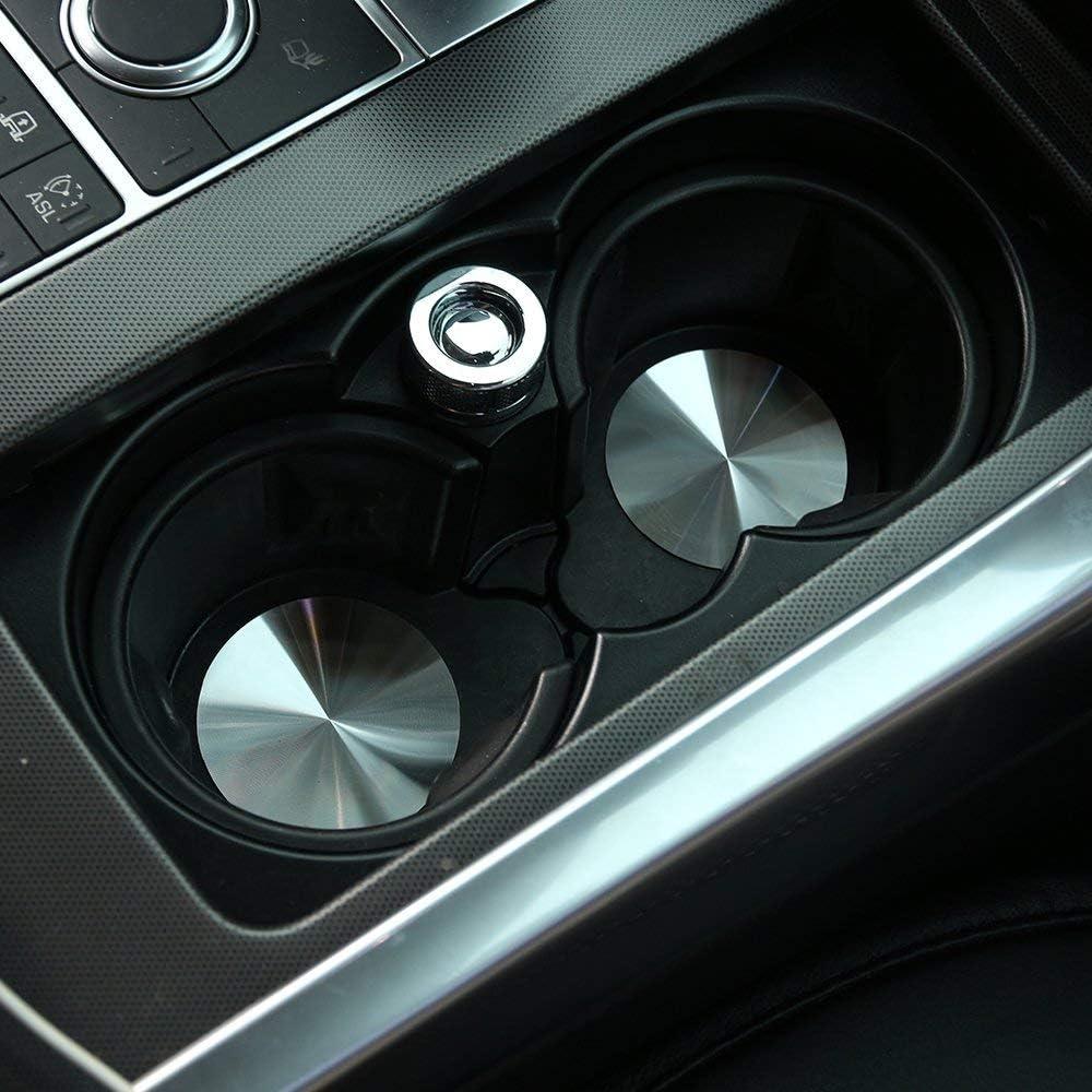 F/ür Discovery Sport F/ür Discovery 4 F/ür Range Rover Sport Vogue Verkleidung der Auto-Getr/änkehalter-Abdeckung