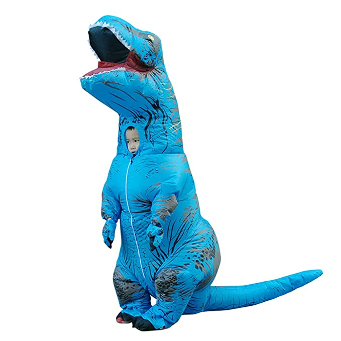 Amazon.com: Icevog Blow Up Jurassic Park - Traje hinchable ...
