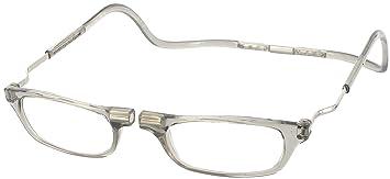 e17855ebaf08 Image Unavailable. Image not available for. Color  CliC Reader XXL Single  Vision Half Frame Designer Reading Glasses ...