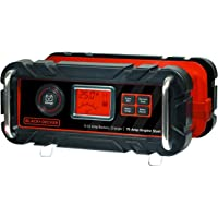 Black+Decker 25 Amp Battery Charger with 75A Engine Start