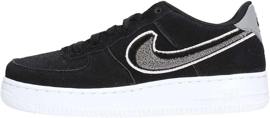 Nike Air Force 1 LV8 BlackWhite Cool Grey (Big Kid) (4.5 M US Big Kid)