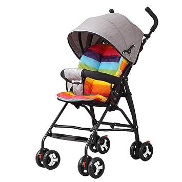 ZLYFA Baby Travel Stroller Ligero Carrito Plegable,Gray: Amazon.es: Hogar