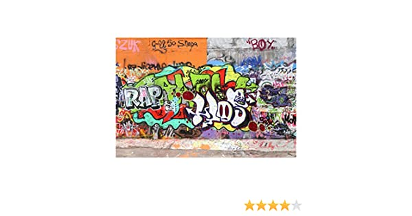 Bilderwelten Fotomural - Graffiti Wall - Mural apaisado papel pintado fotomurales murales pared papel para pared foto 3D mural pared barato ...