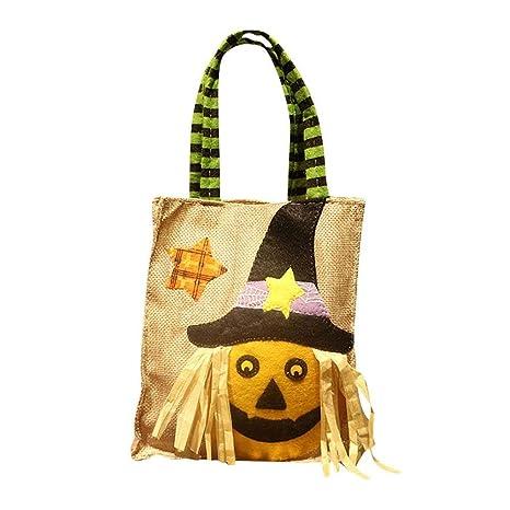 Amazon.com: Aolvo Halloween bolsas de caramelos Halloween ...