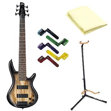 Ibanez gsr206sm 6 cuerdas Bajo eléctrico guitarra en Natural gris ...