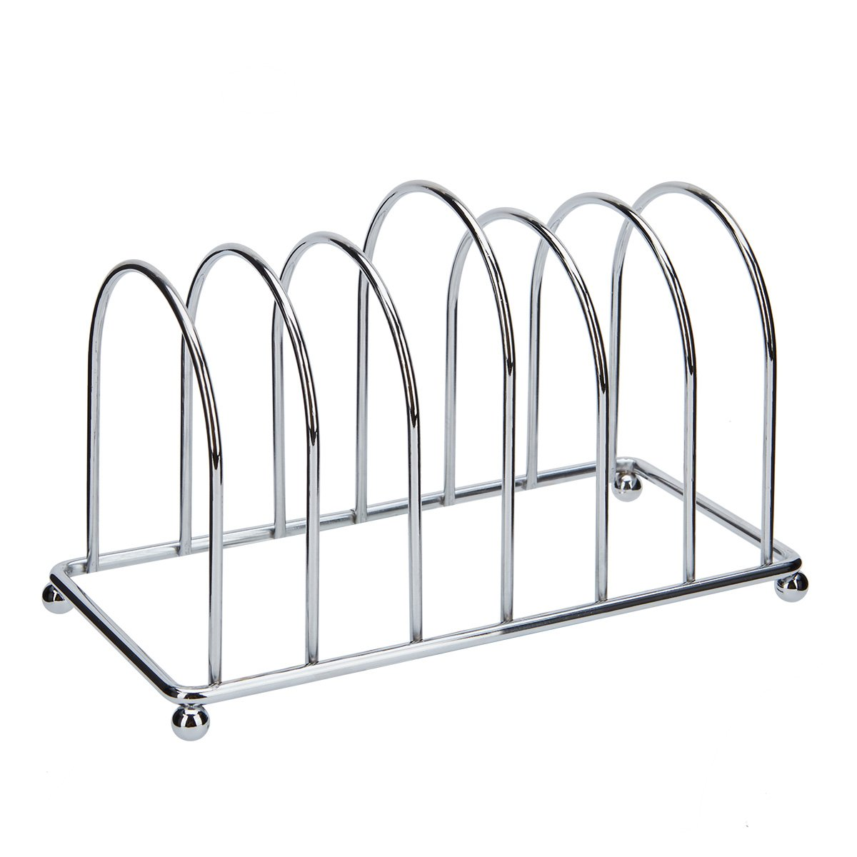 PINK inscriptions Chrome 6 SLICE Toast Rack New Year discount.