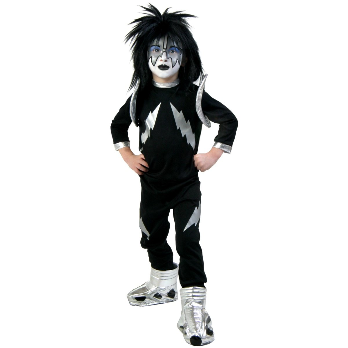 Boys' Kiss Spaceman Costume