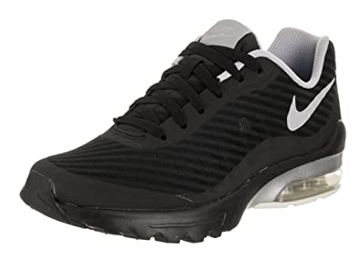 NIKE Air Max Invigor, Baskets Femme, Noir (Black/Wolf Grey 002)