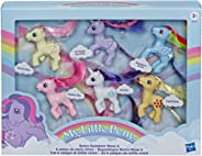 My Little Pony Retro Rainbow Mane 6 -- 80s-Inspired Collectable Figures with Retro Styling; 6 3-Inch Toys (Amazon Exclusive)