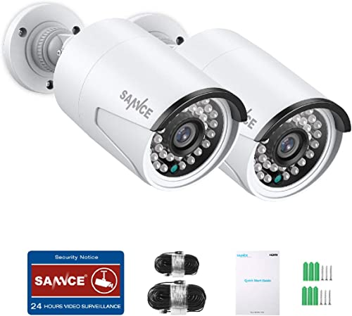 SANNCE 2MP PoE Securtiy Camera Video Surveillance
