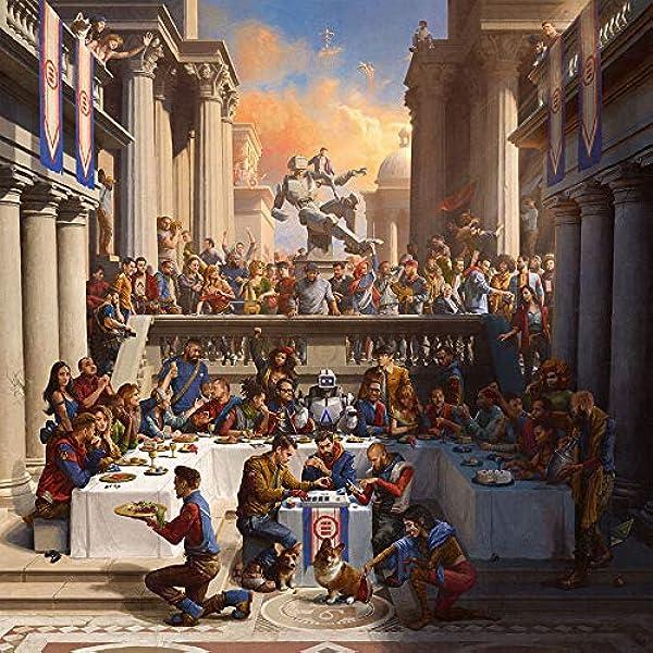 "Logic Bobby Tarantino Poster Hip Hop Music Album Rap Cover 12x12/"" 24x24/"" 32x32"