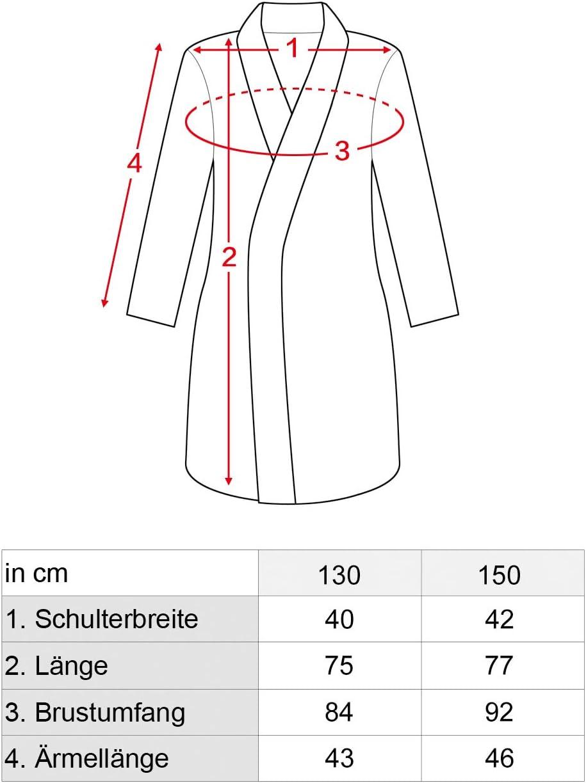 130 CoolChange Drachenz/ähmen leicht gemacht Ohnezahn Kinderbademantel mit Kapuze I Gr/ö/ße