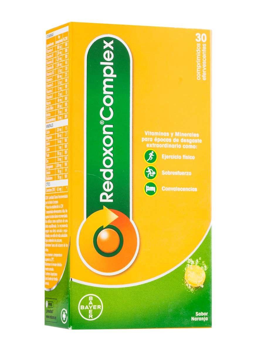 Redoxon REDOXCOMLEX EFERVESCENTE 30 COMP: Amazon.es: Salud y cuidado personal