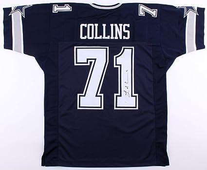 La el Collins  71 Signed Dallas Cowboys Jersey (JSA Hologram) at ... 9933ea68c