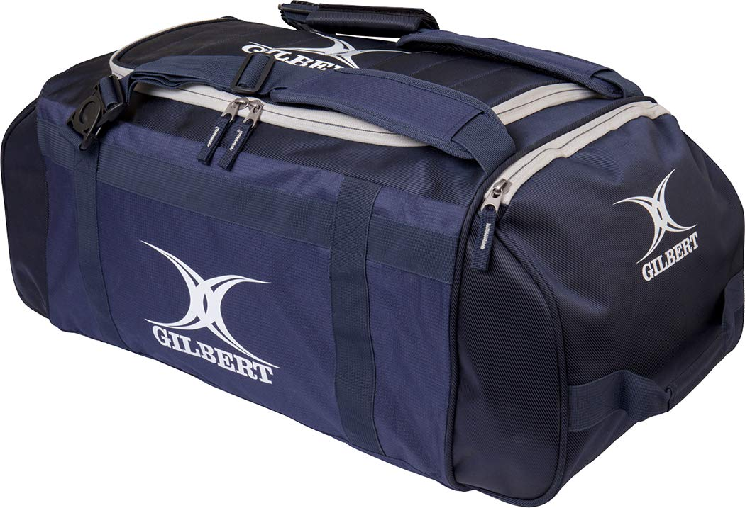 Gilbert Rugby Deluxe Bag Holdall Black Or Navy