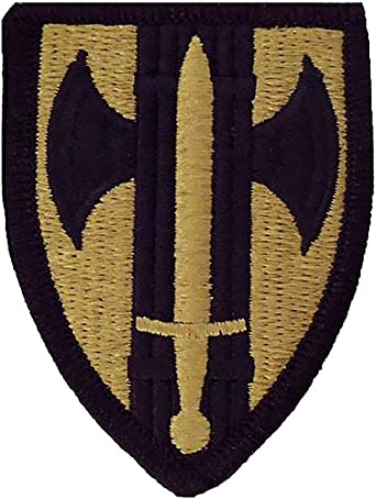 89th Military Police MP Brigade Subdued US Army Unit Patch Sew On