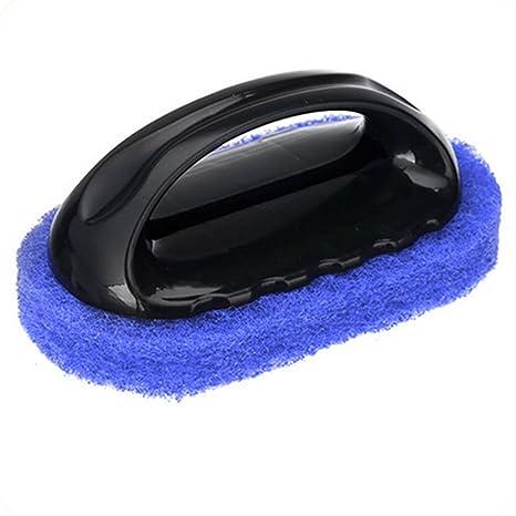 Fuerte Descontaminación Esponja Cepillo de limpieza Estufa cepillo de baño bañera suelo de fondo rígido con