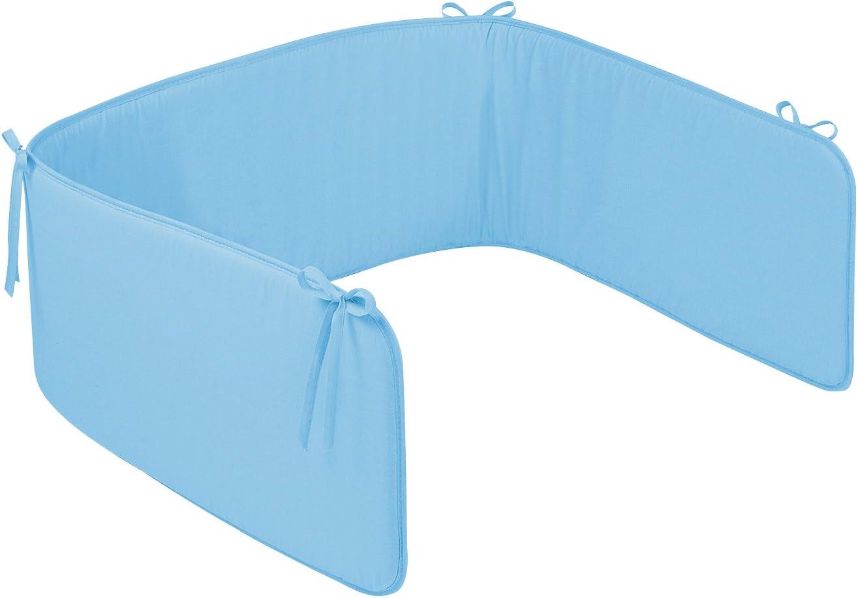 Julius Z/öllner 8250040317 Paracolpi da culla Basic uni 180 cm Blu