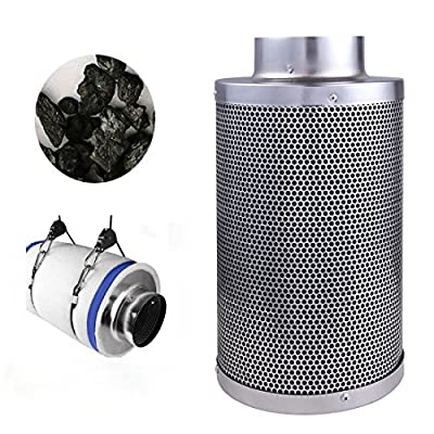 """4"""" Air Carbon Charcoal Filter Inline Fan Scrubber Odor Control Hydroponic New"""