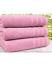 Real egipcio peinado 3Pack toallas de baño y toallas de mano de 550G/m², tamaño Extra grande tamaños