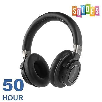 VFclar Auriculares Bluetooth Inalámbrico 50H Tiempo de Trabajo Bluetooth Versión 4.1 con Hi-Fi Stereo