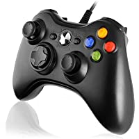 Diswoe Xbox 360 Mando de Gamepad, Controlador Mando