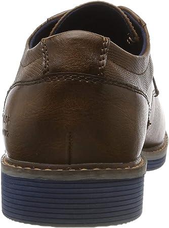 Tom Tailor 7981101, Zapatos de Cordones Derby para Hombre
