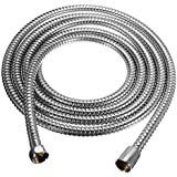 Buwico Extra Long Replacement Shower Hose 118-Inch (3-Meter), Stainless Steel
