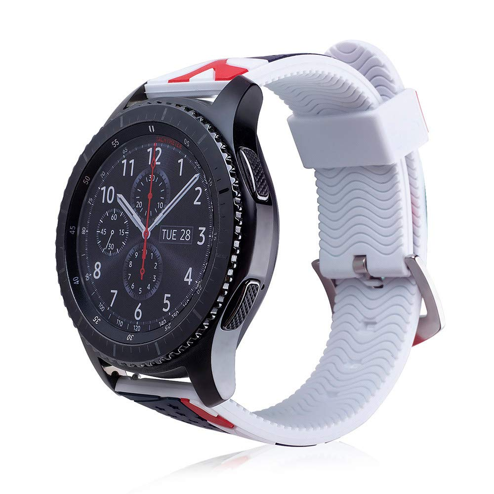 Amazon.com: Saying Silicone Strap Watch Bands with Pattern ...