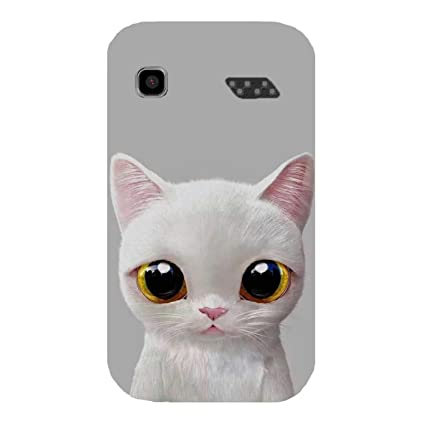 huge discount 06b1e 661f0 Videotronix Cat Big Eyes Uv Printed Back Cover for: Amazon.in ...
