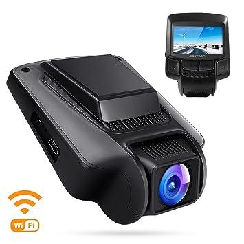 APEMAN Dashcam WiFi Cámara de Coche FHD 1080P DVR 170°Lente Gran Angular 2.45