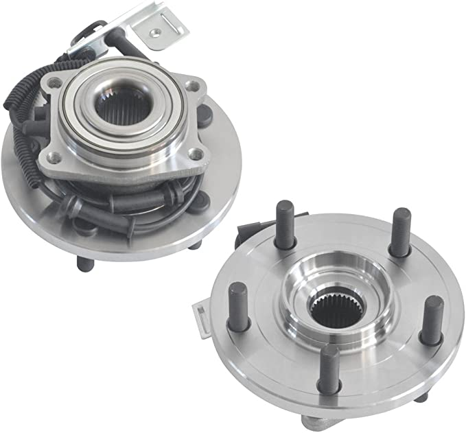 Front Wheel Hub and Bearing Assembly Left or Right Compatible Chrysler Town and Country Dodge Grand Caravan Volkswagen Routan AUQDD 513273 x2 Pair 5 Lug W//ABS