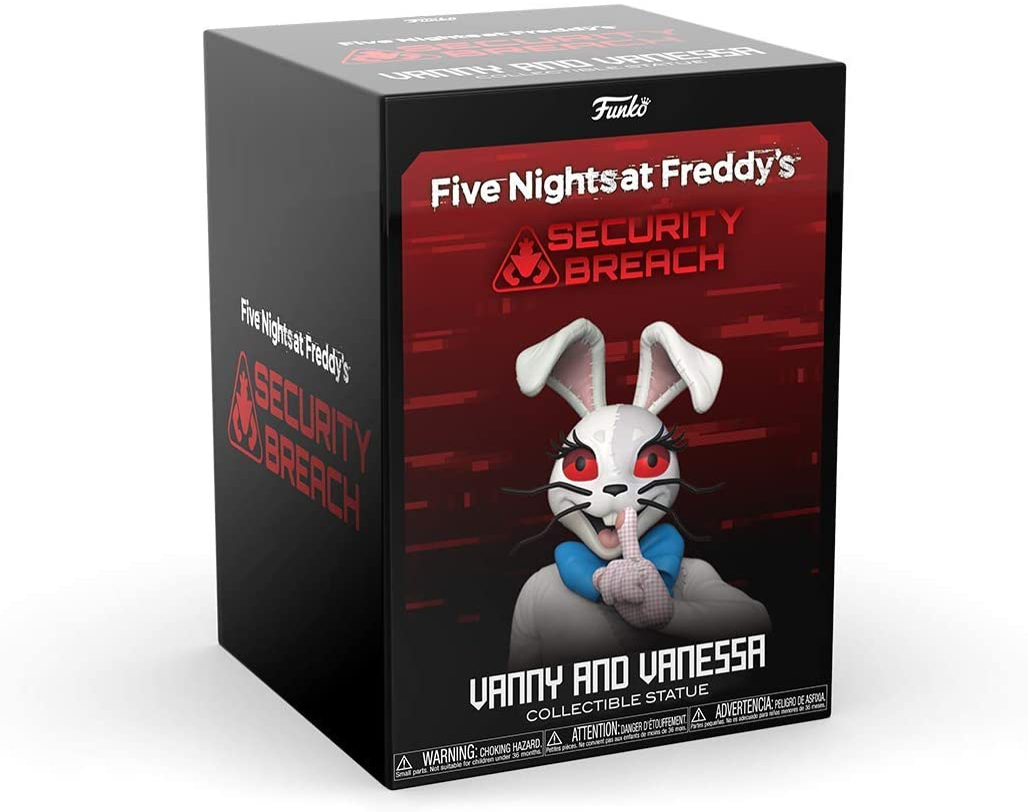 Vanny and Vanessa Funko 12 Statue Five Nights at Freddys