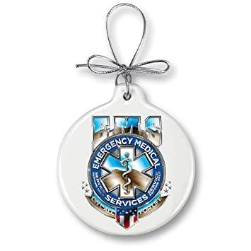 Amazon.com: Christmas Ornaments – Paramedic Gifts for Men or Women ...