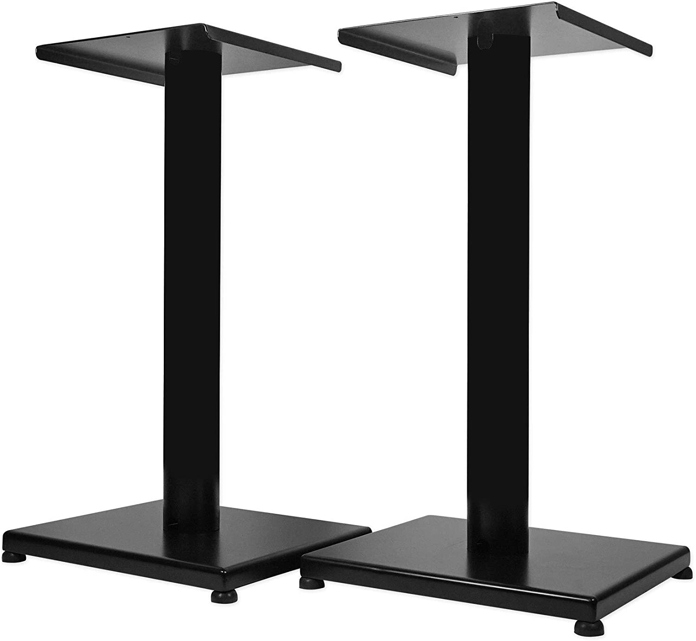 "Rockville 21/"" Black Steel Studio Monitor Speaker Stands For Rockville APM6W"