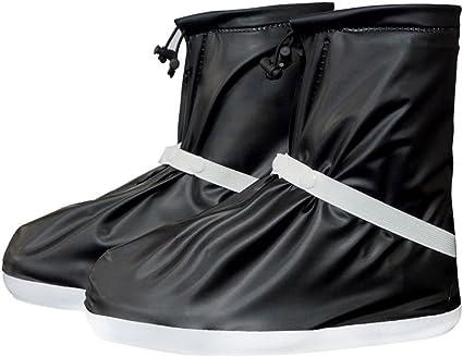 Reusable Anti-slip Waterproof Rain Shoes Boots Cover Motorcycle Bike Overshoes