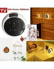 Nifogo Mini Heater - Estufa Eléctrica Portátil de Bajo Consumo, 900 W con Enchufe Eléctrico