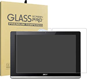 "Acer Iconia One 10 B3-A50 Tempered Glass Screen Protector,LiuShan HD Clear Scratch-Resistant 9H Hardness Film for 10.1"" Acer Iconia One 10 B3-A50 Tablet."