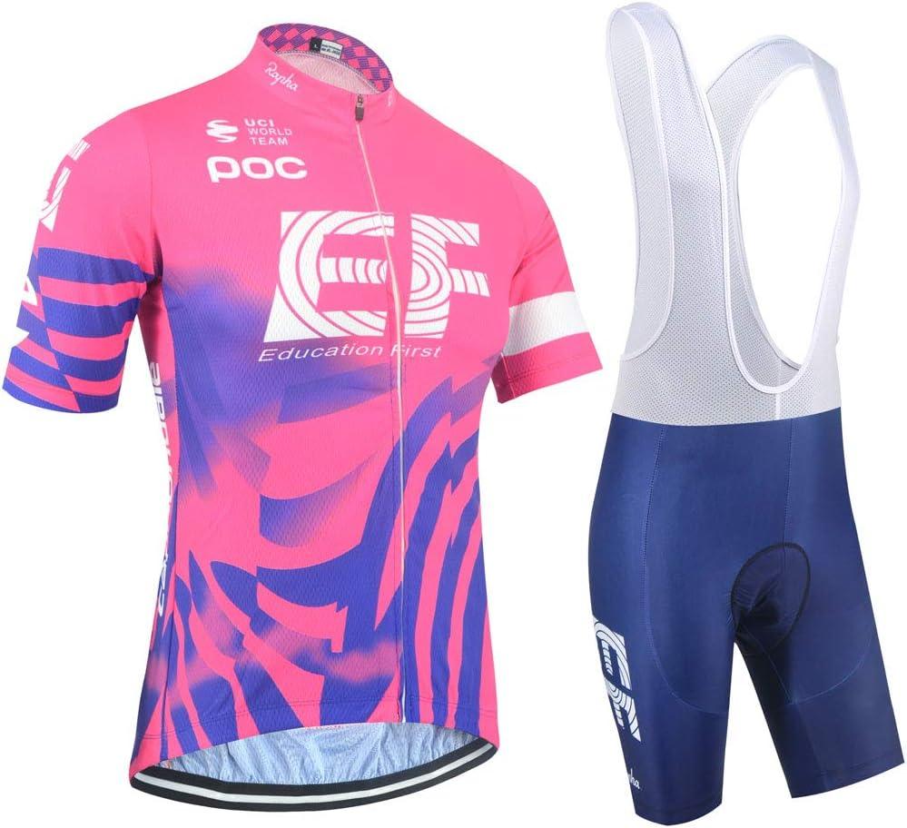 XIAKE Conjunto Traje Ciclismo para Verano, Maillots Ciclismo Mangas Cortas y Culotte Pantalones Cortos Bicicleta, Mujer Equipacion Ciclismo: Amazon.es: Deportes y aire libre