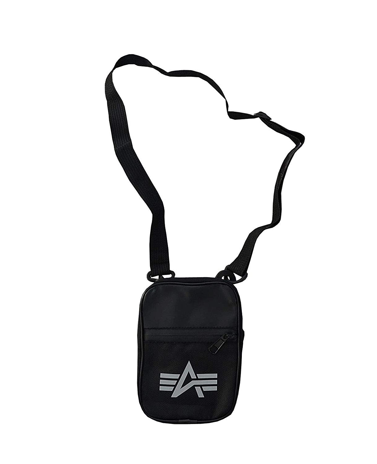 Alpha Industries Utility Bag Reflective Schultertasche black